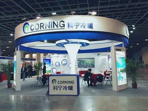 科宁冷暖全新形象亮相中国南京第八届文化创意产业交易会