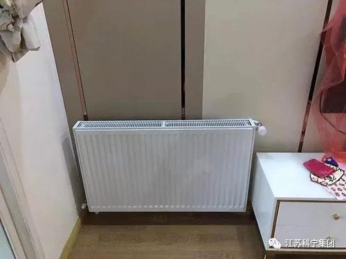 托乐嘉明装暖气完工,颜值在线,温暖相伴