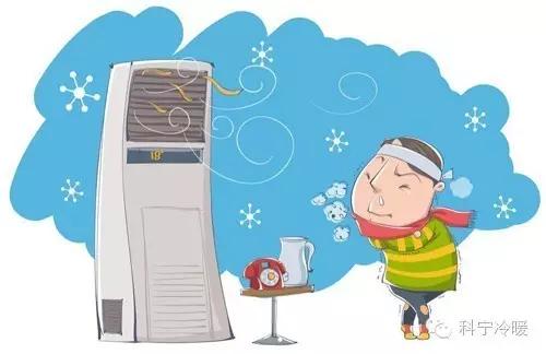 壁挂机送风方式空调病