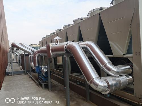 江苏科宁集团风冷热泵机组